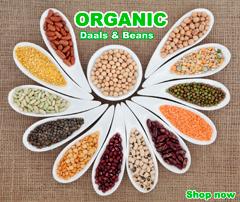 Organic Daal & Beans